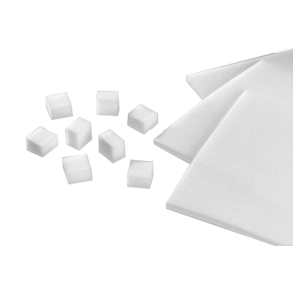 Foam Cubes and Sheets Image